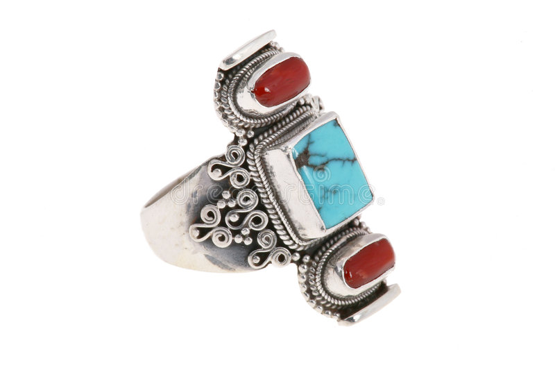 anel de turquesa foto de stock royalty free