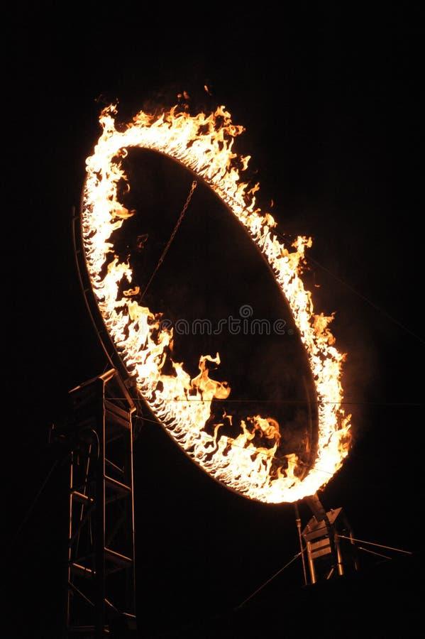 Anel do FULGOR de fogo 2013 fotos de stock royalty free