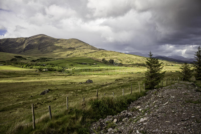 Anel do Kerry - Irlanda foto de stock royalty free