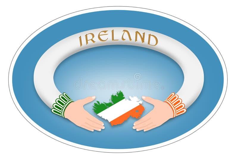 Anel irlandês ilustração royalty free