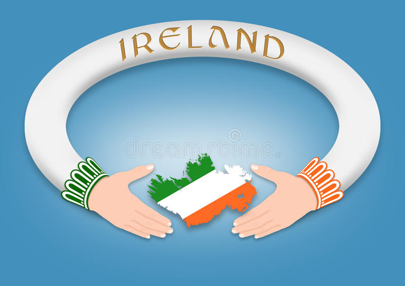 Anel irlandês foto de stock royalty free