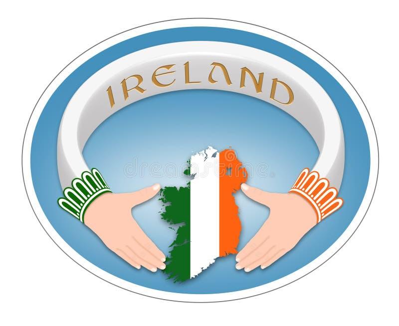 Anel irlandês fotos de stock