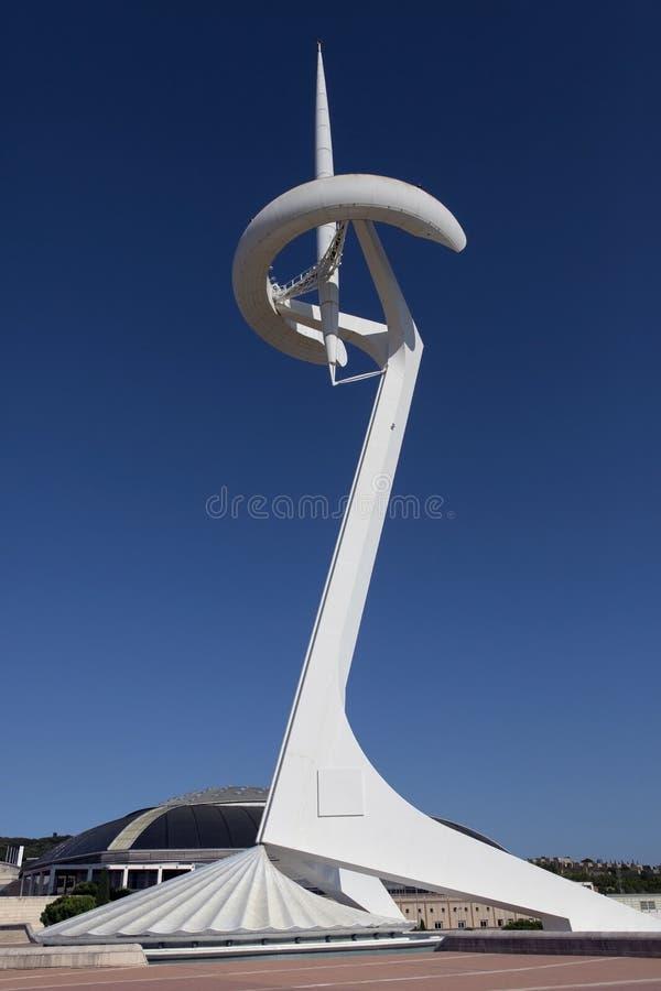 Anella Olimpica - Barcelona - Spain stock photo