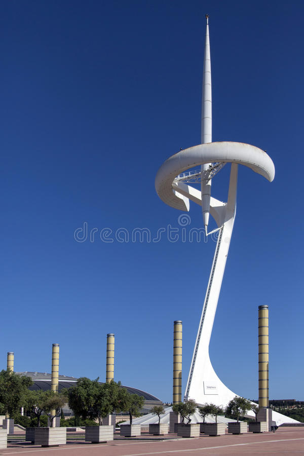Anella Olimpica - Barcelona - Spain stock image