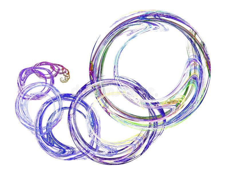 Anelli illustrazione vettoriale