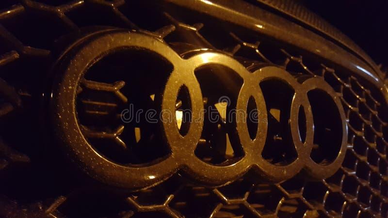 4 anelli Audi fotografie stock