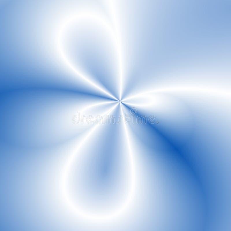 Anelli blu illustrazione vettoriale