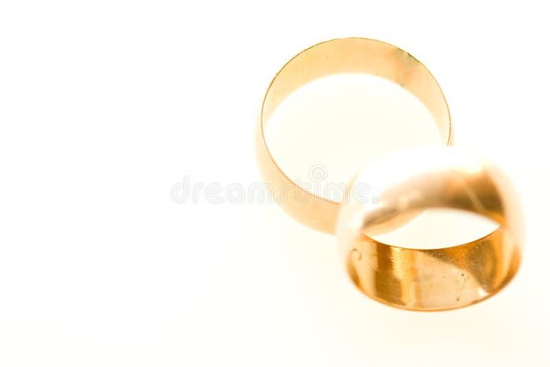Anelli di cerimonia nuziale fotografie stock libere da diritti
