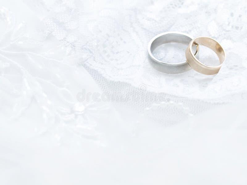 Anelli di cerimonia nuziale immagini stock libere da diritti