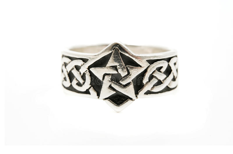 Anello celtico fotografia stock