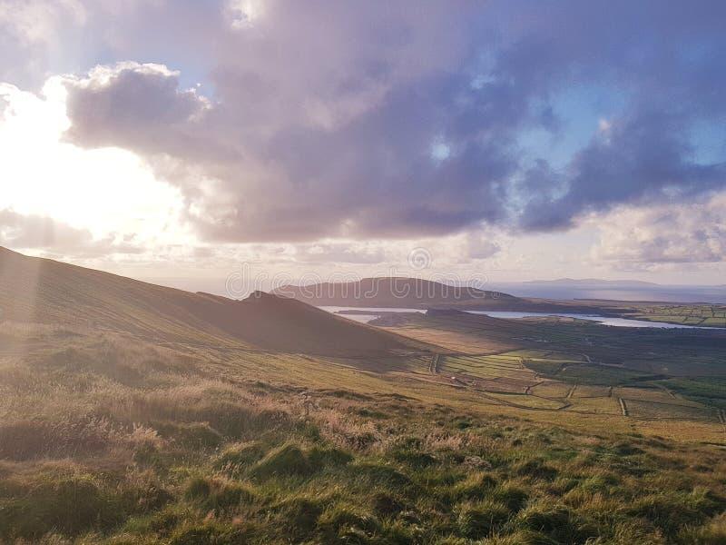 Anello del kerry Irlanda fotografia stock libera da diritti