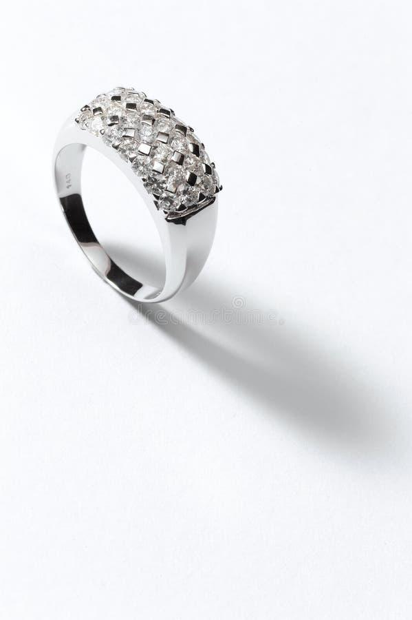 Anello dell'argento sterlina fotografia stock libera da diritti