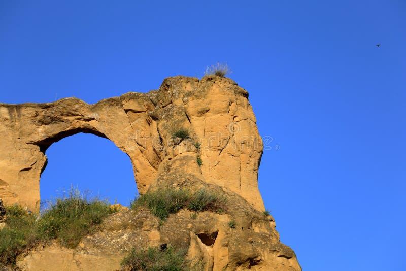 Anello della montagna del cielo della natura fotografia stock libera da diritti