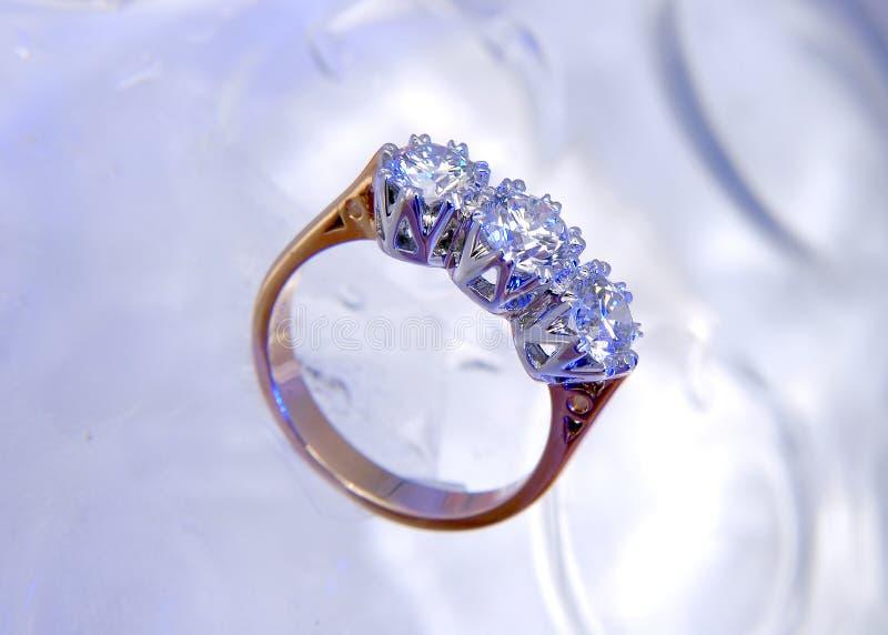 Anello di diamante fotografia stock libera da diritti