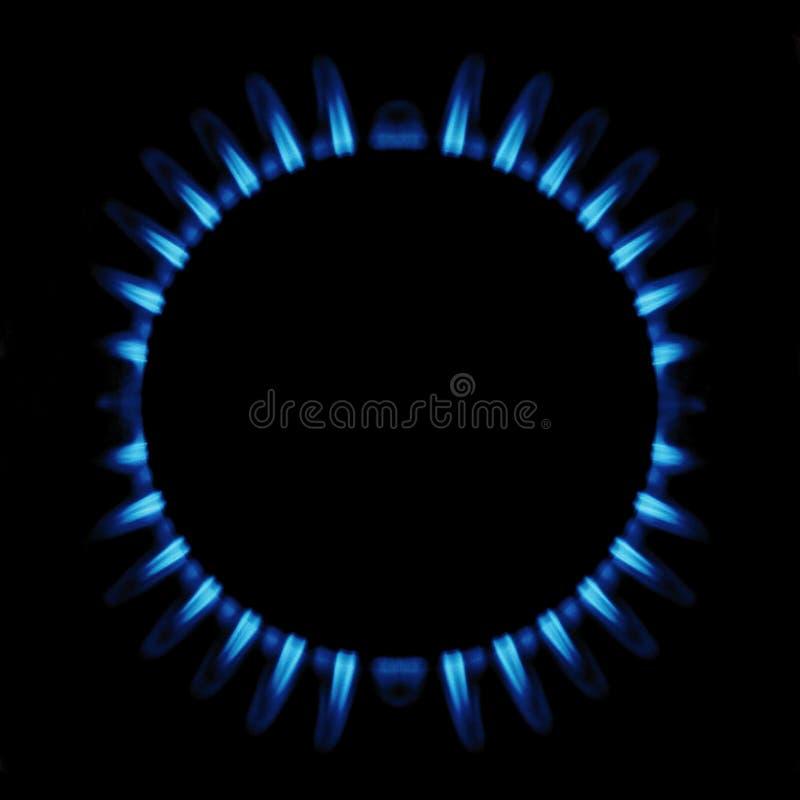 Anello di gas fotografia stock