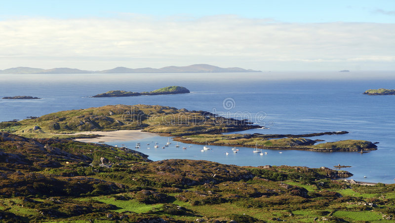 Anello di Kerry, Irlanda fotografie stock libere da diritti