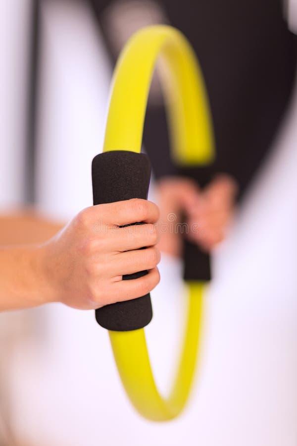 Anello di Pilates fotografie stock
