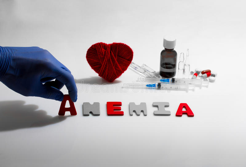 anemia fotografia royalty free