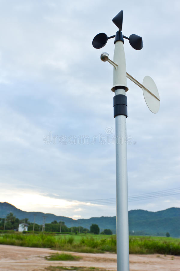 Download Anemometer stock image. Image of meteorological, equipment - 22072533