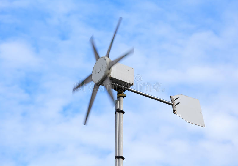 Anemometer royalty free stock photo