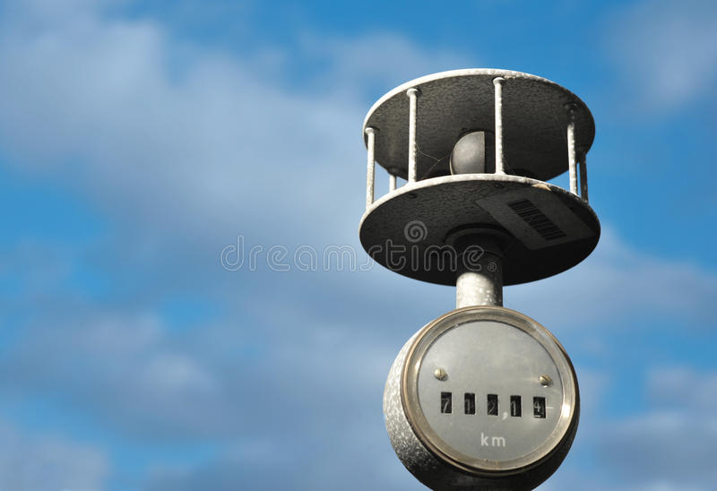 Download ANEMOMETER stock image. Image of rain, measurement, atmospheric - 23479851