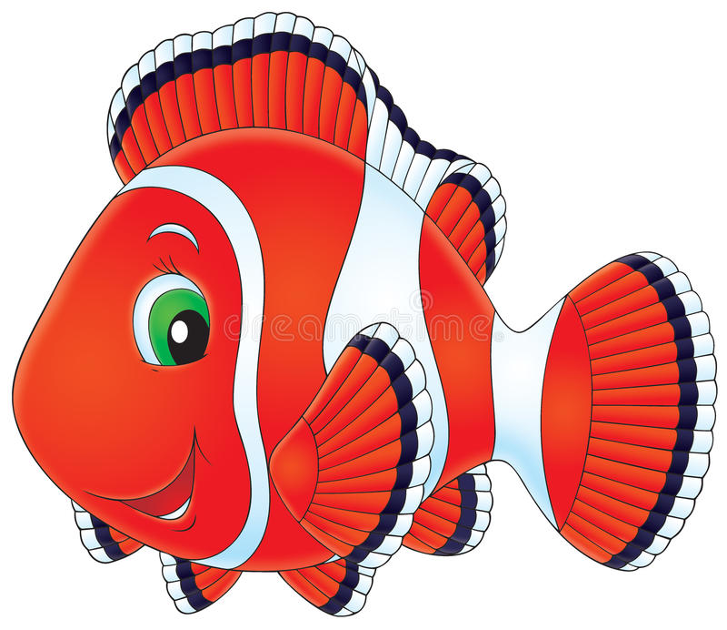 Anemonefish ilustração stock