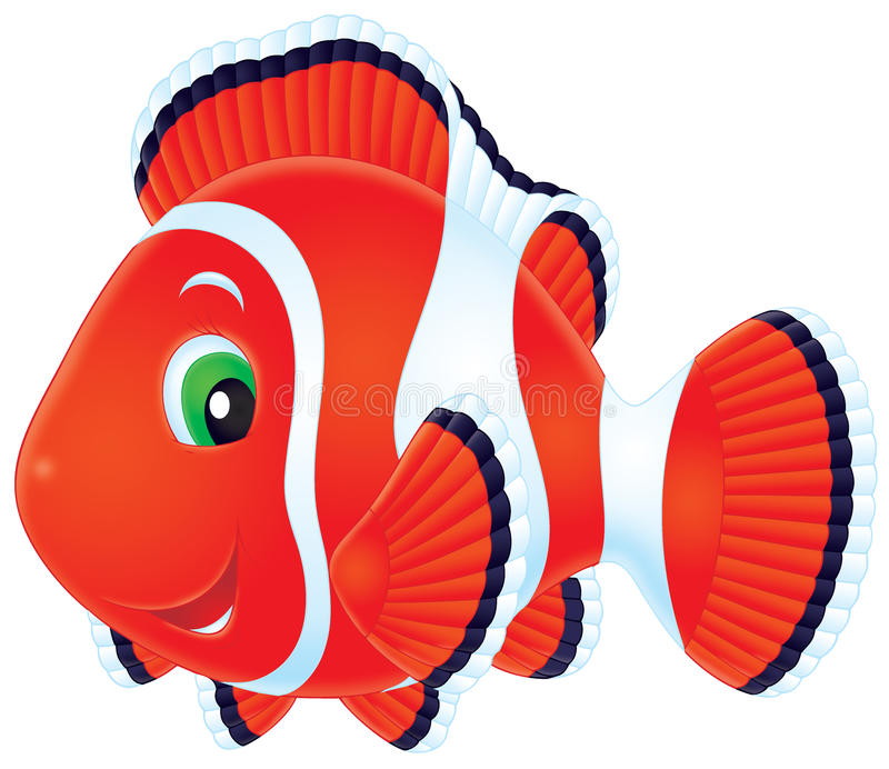 Anemonefish royalty-vrije illustratie