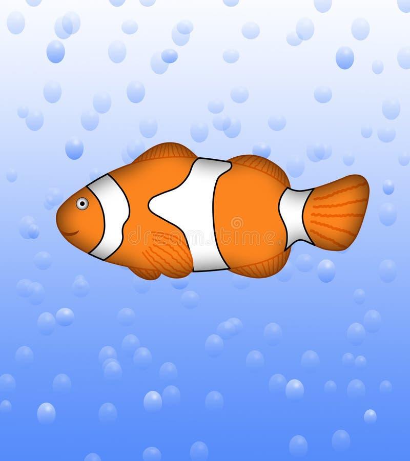 Anemonefish del payaso ilustración del vector
