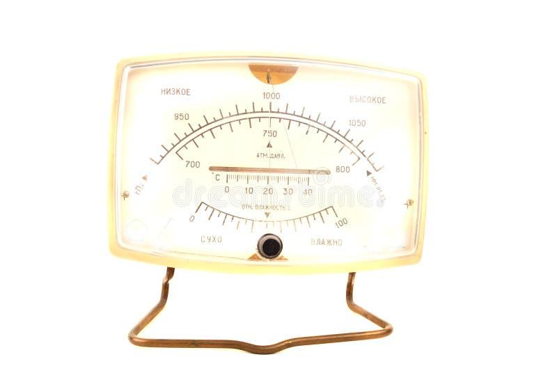 Aneroid Barometer Stock Photo Image Of Meteorology Instrument