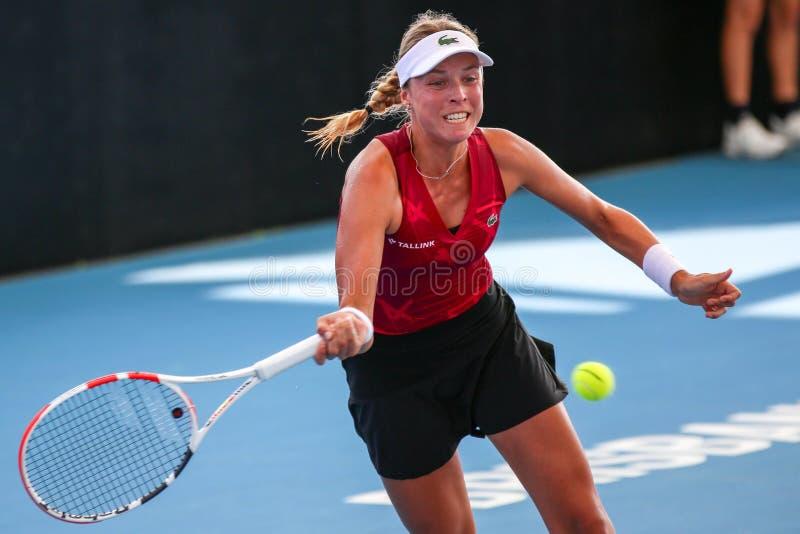WTA Brisbane International 2020 royalty free stock images