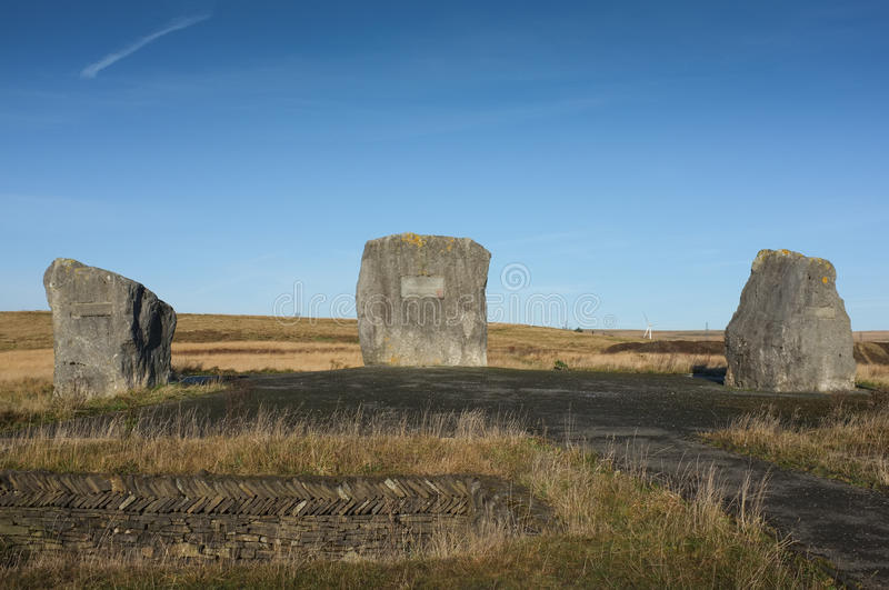 Download Aneurin Bevan Stones, Tredegar, Wales Stock Photo - Image: 28860548