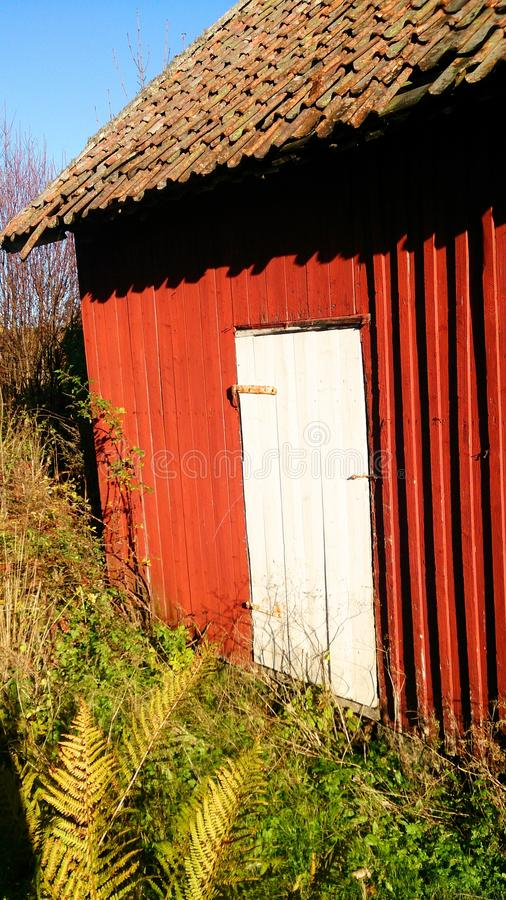 Anexo velho em Noruega fotos de stock royalty free