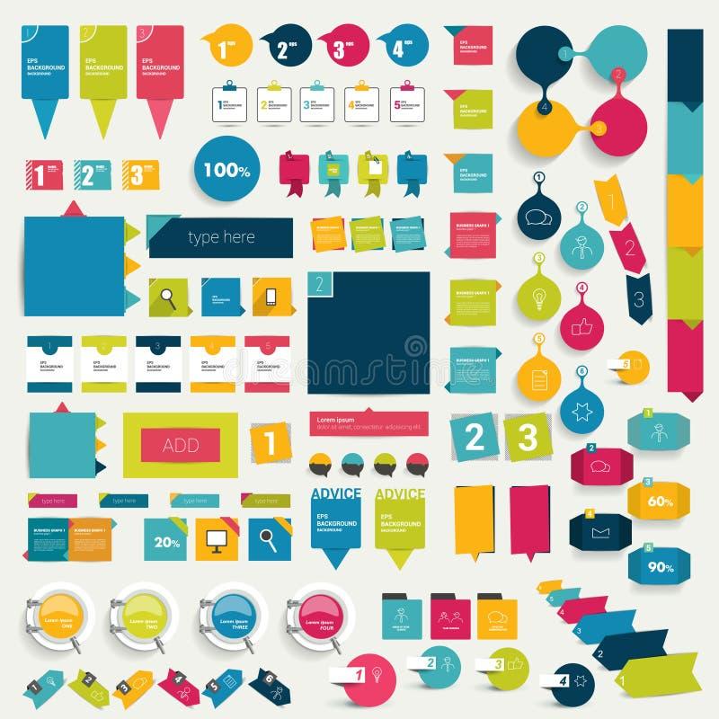 anförande för jpeg för tillgängliga format för bubblor eps8 set stock illustrationer