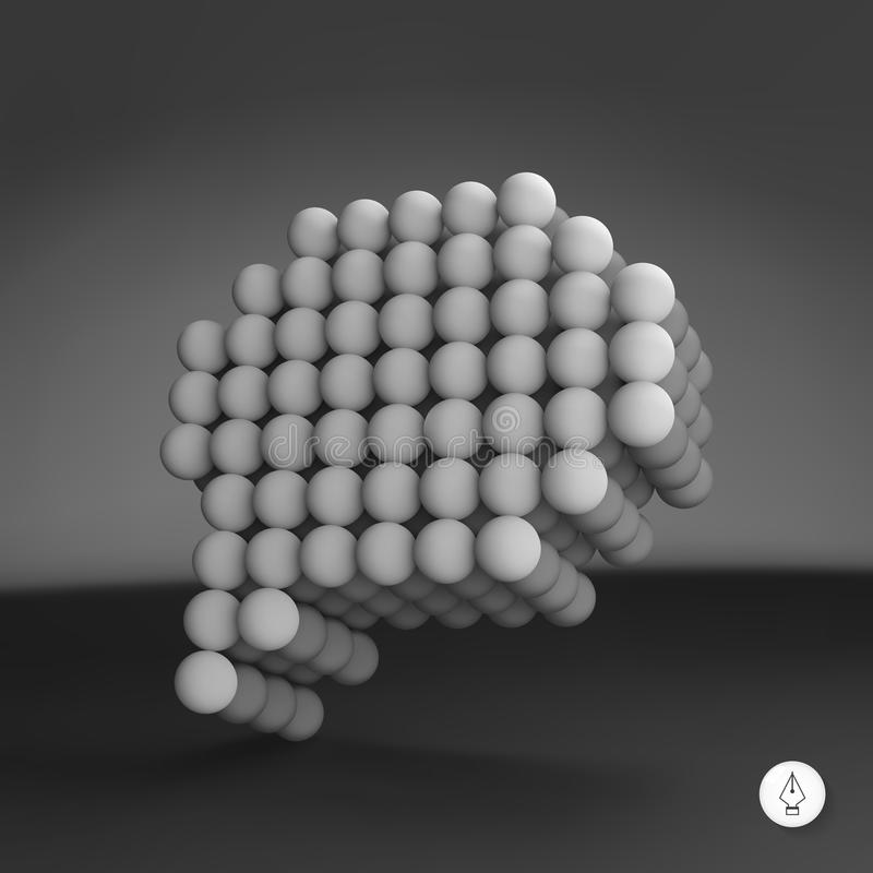Anförandesymbol vektor för bild för designelementillustration vektor 3d vektor illustrationer