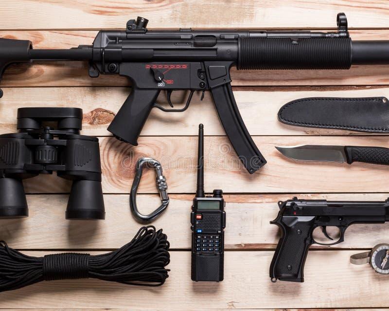 Anfallgevär, vapen arkivfoto