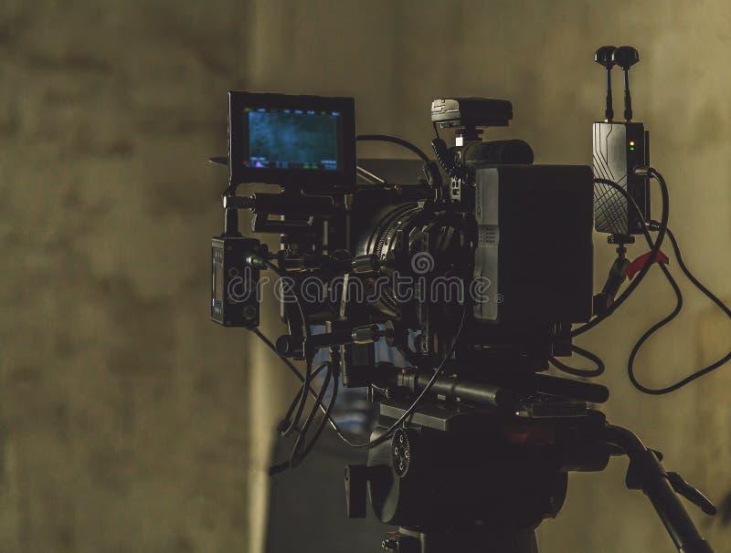 Anfangfilmkamera lizenzfreies stockfoto