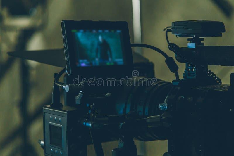 Anfangfilmkamera stockfotos