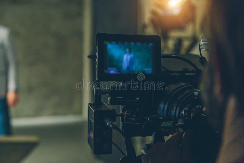 Anfangfilmkamera lizenzfreies stockbild