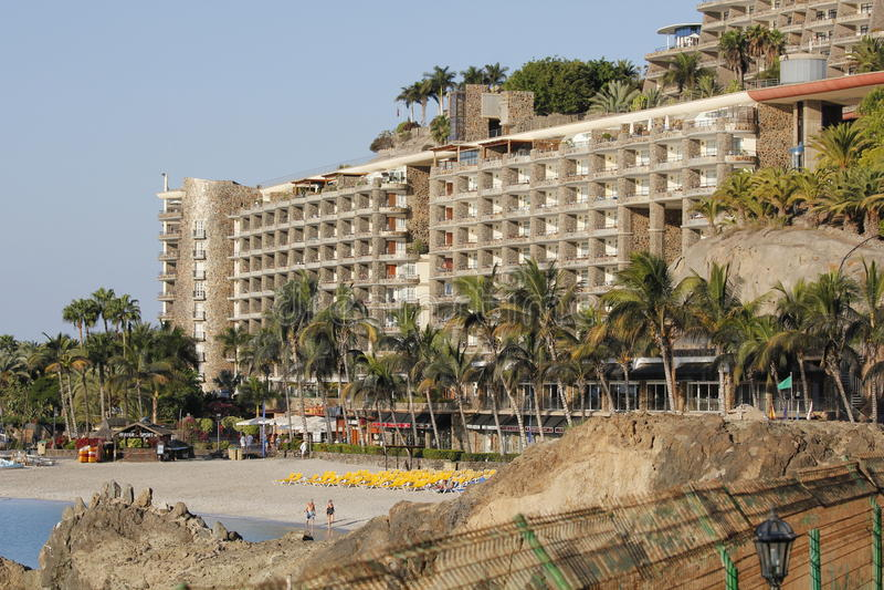 Anfi Del Mar royaltyfri fotografi