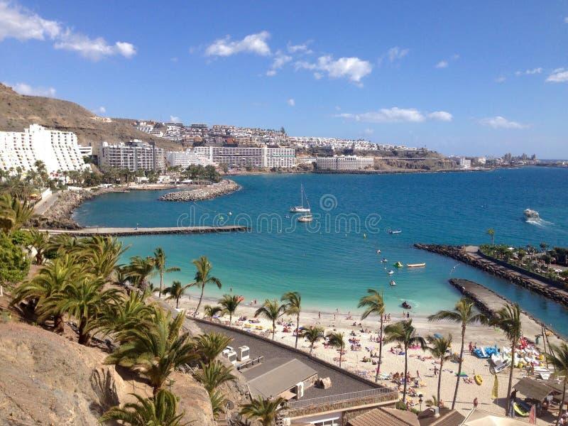 Anfi Del Mar, Gran Canaria, España fotos de archivo libres de regalías