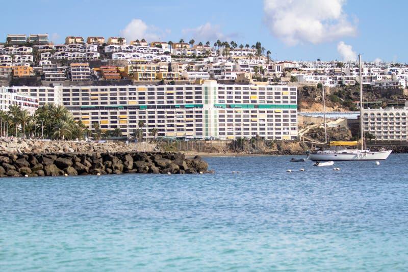 Anfi Del Mar, isla de Gran Canaria, España imágenes de archivo libres de regalías