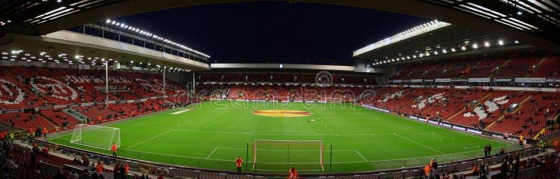 Anfield-Stadion lizenzfreies stockfoto