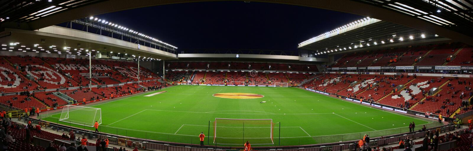 Anfield stadium royalty free stock photo