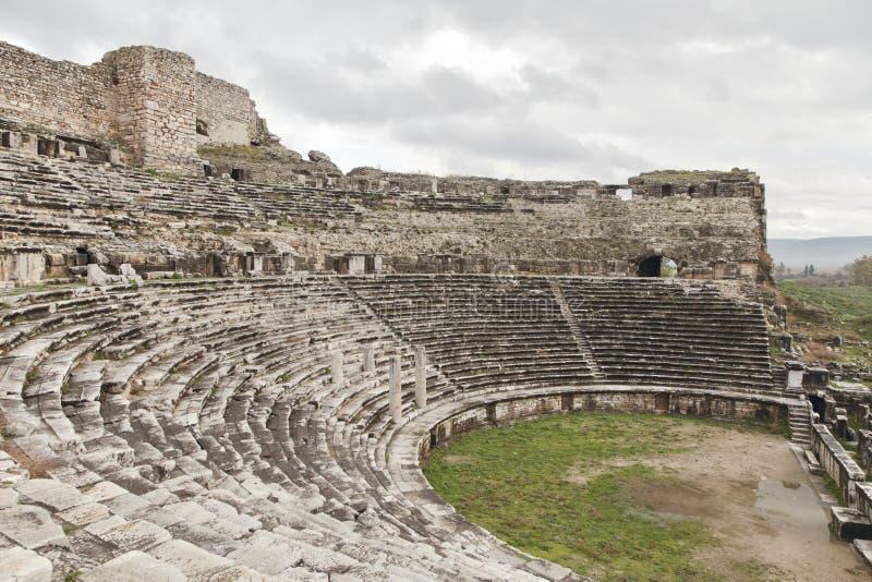 Anfiteatro antiguo foto de archivo libre de regalías