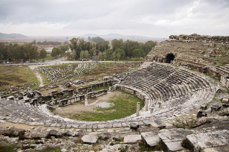 Anfiteatro antiguo imágenes de archivo libres de regalías