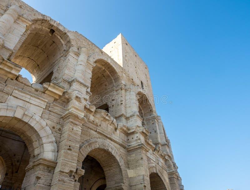 Anfiteatro in Arles, Francia fotografia stock libera da diritti