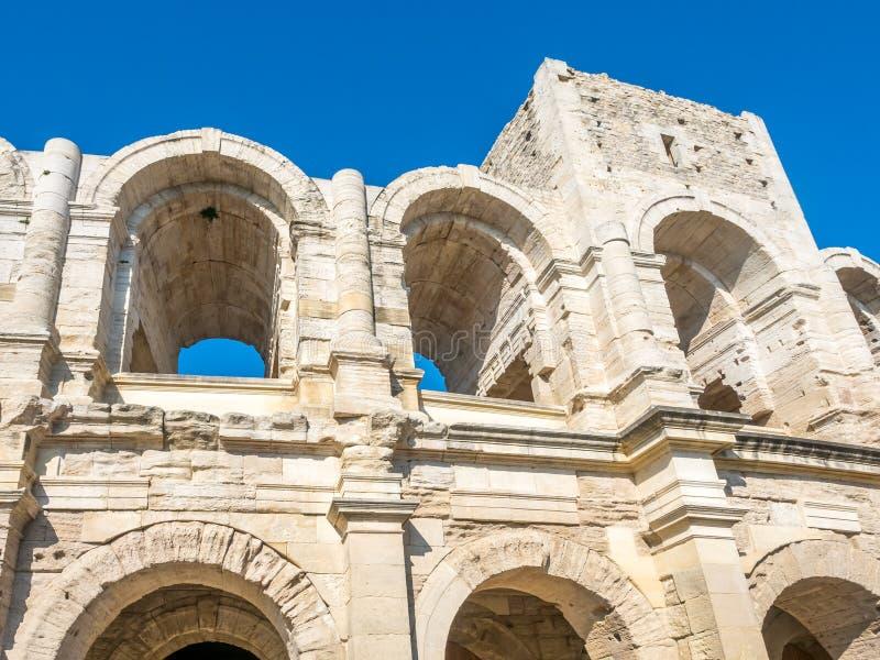Anfiteatro in Arles, Francia fotografie stock