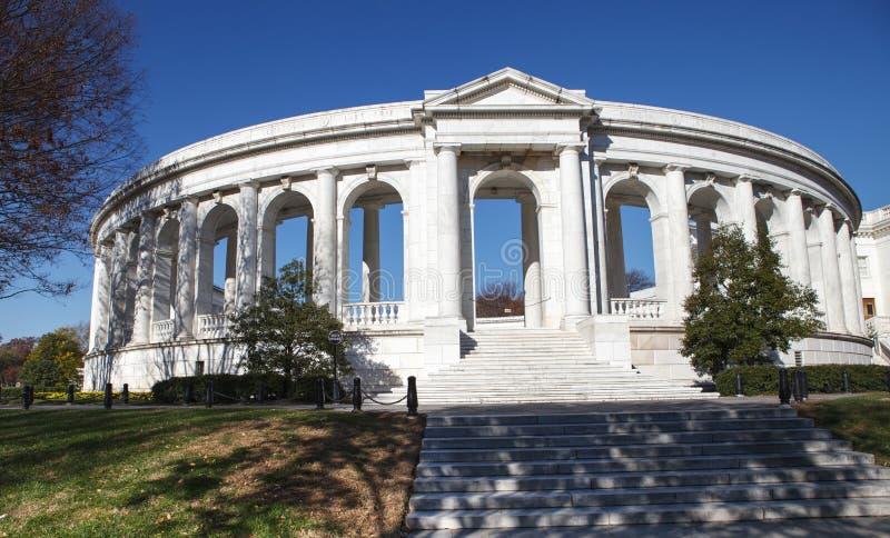 Anfiteatro commemorativo Arlington VA fotografia stock libera da diritti