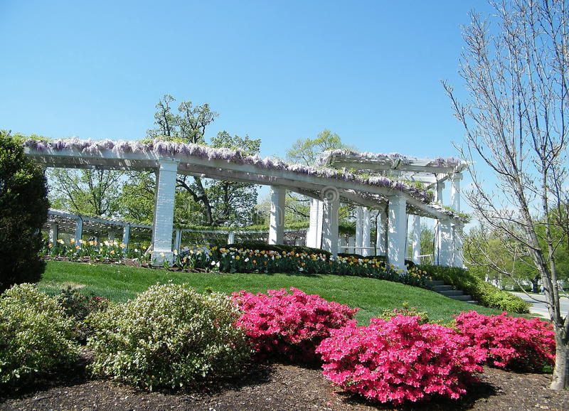 Anfiteatro commemorativo 2010 del cimitero di Arlington vecchio immagine stock libera da diritti