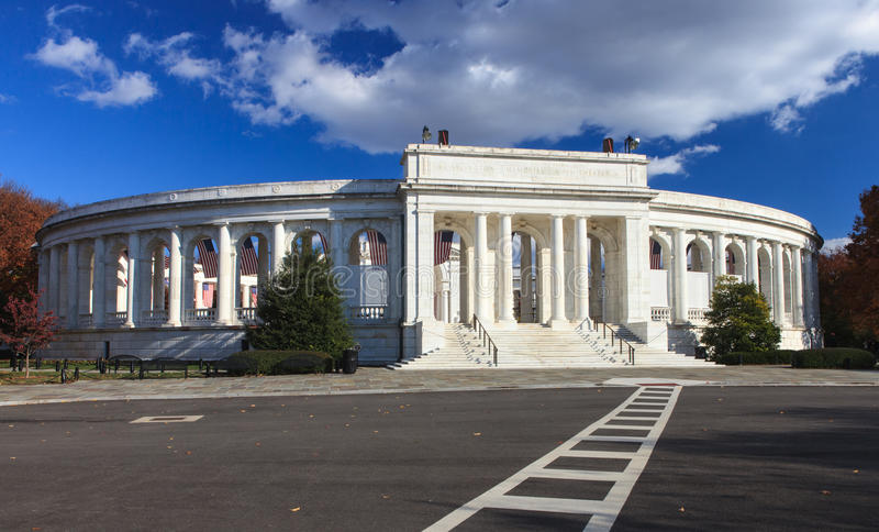Anfiteatro commemorativo, Washington DC fotografia stock